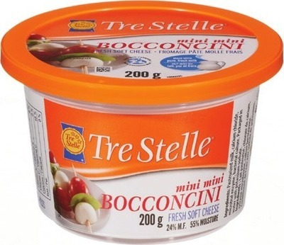 TRE STELLE BOCCONCINI OR RICOTTA OR ARLA SLICED DELI CHEESE