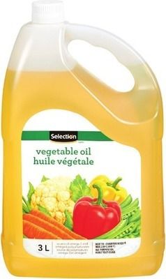 SELECTION CANOLA OR VEGETABLE OIL
