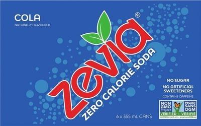 ZEVIA SOFT DRINKS