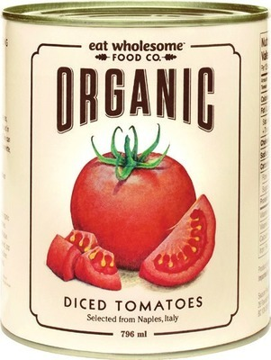 EAT WHOLESOME CANNED TOMATOES