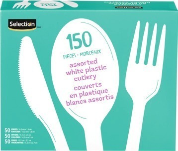 SELECTION FOAM PLATES, CUTLERY OR CUPS