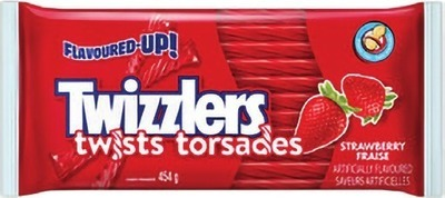 HERSHEY'S TWIZZLERS LICORICE OR DARE REAL FRUIT CANDY