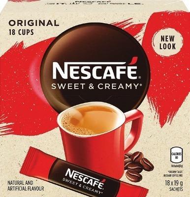 NESCAFÉ GOLD OR SWEET & CREAMY INSTANT COFFEE