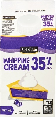 SELECTION WHIPPING CREAM