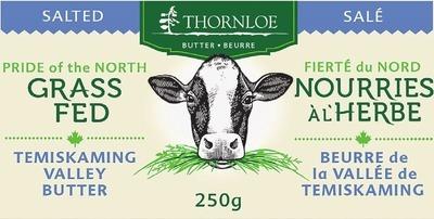 THORNLOE GRASS FED BUTTER