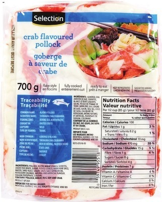 SELECTION IMITATION CRAB MEAT FLAKES