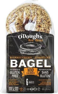 O'DOUGHS GLUTEN FREE BAGEL