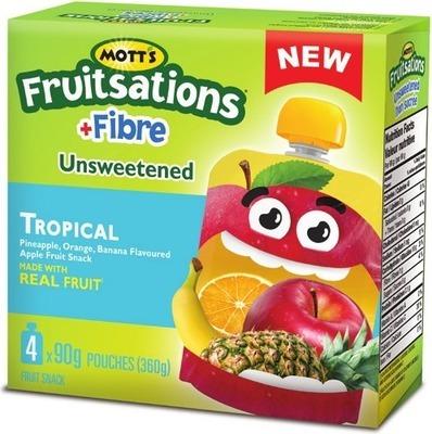 MOTT'S FRUITSATIONS FRUIT SNACKS