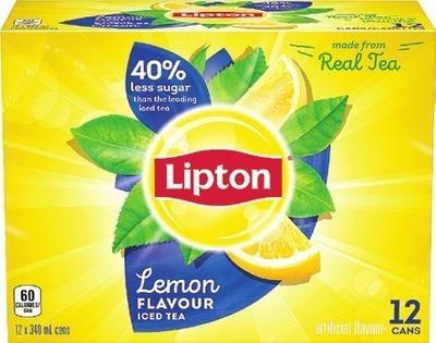 LIPTON, MONTELLIER OR PROPEL DRINKS