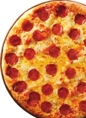"""PEPPERONI & CHEESE 16"""" X-LARGE HOT PIZZA"""