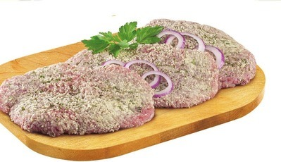 PLATINUM GRILL ANGUS BREADED TENDERIZED BEEF CUTLETS
