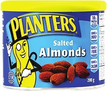 PLANTERS MIXED NUTS, ALMONDS OR CRAFT BAR