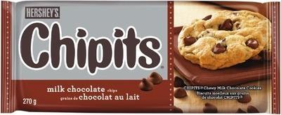 HERSHEY'S CHIPITS CHOCOLATE CHIPS