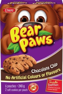 DARE BEAR PAWS OR CRACKERS