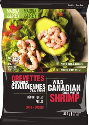 MARINA DEL REY WILD CANADIAN COOKED COLD WATER SHRIMP