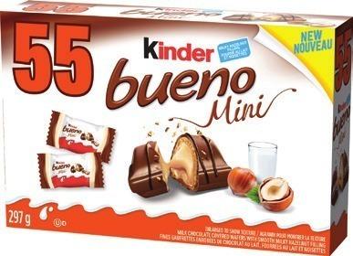 FERRERO KINDER OR BUENO MINI CHOCOLATE