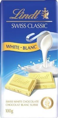 LINDT SWISS CLASSIC CHOCOLATE BARS