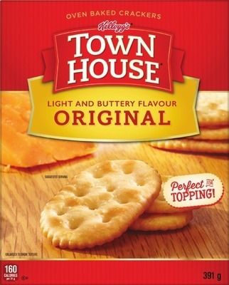 KELLOGG'S TOWNHOUSE OR CHEEZ-IT CRACKERS