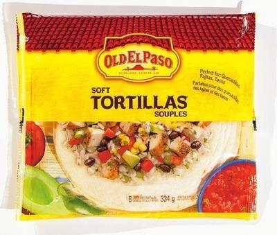 OLD EL PASO REFRIED BEANS, TORTILLA OR TACO SHELLS OR BEN'S ORIGINAL BISTRO EXPRESS INSTANT RICE