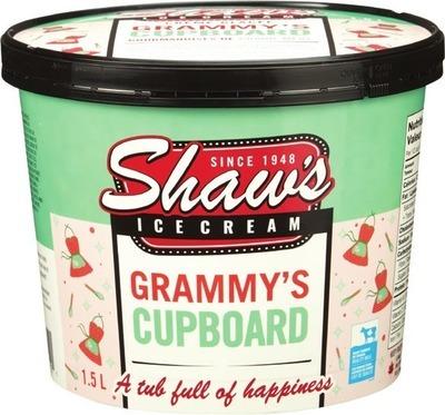 SHAW`S ICE CREAM