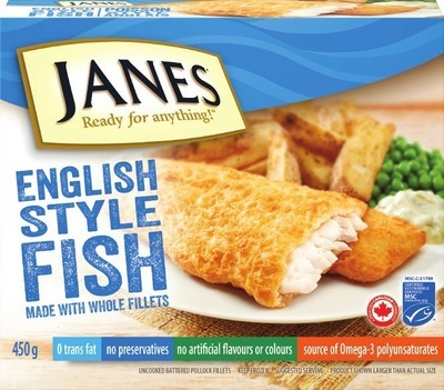 JANES BATTERED OR BREADED FISH CLASSICS