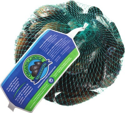 FRESH PEI MUSSELS NETTED BAG