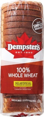 DEMPSTER'S WHITE OR WHOLE WHEAT BREAD, BAGELS, HOT DOG OR HAMBURGER BUNS