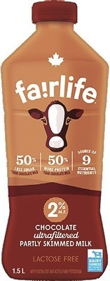 FAIRLIFE LACTOSE FREE MILK OR CHRISTIE FAMILY SIZE COOKIES OR CRACKERS