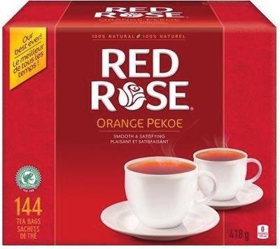 RED ROSE ORANGE PEKOE TEA