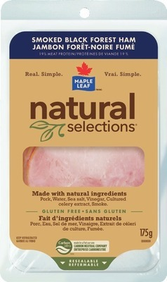 MAPLE LEAF NATURAL SELECTIONS OR SCHNEIDERS GERMAN SALAMI