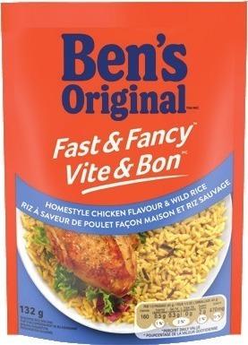 BEN'S ORIGINAL FAST & FANCY INSTANT RICE