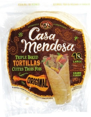 CASA MENDOSA OR WONDER TORTILLAS