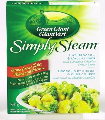 GREEN GIANT SIMPLY STEAM FROZEN VEGETABLES