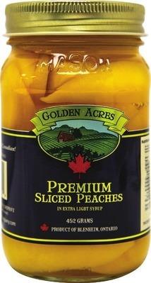 GOLDEN ACRES SLICED PEACHES