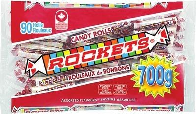 REGAL ROCKETS CANDY ROLLS