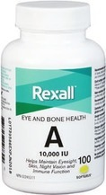 Rexall Brand or Be.Better Vitamins, Minerals or Herbal Supplements