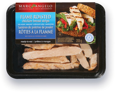 LANIÈRES DE POITRINE DE POULET MARC ANGELO | MARC ANGELO CHICKEN BREAST STRIPS