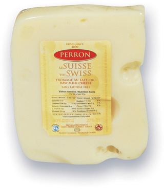 FROMAGE SUISSE PERRON | PERRON SWISS CHEESE