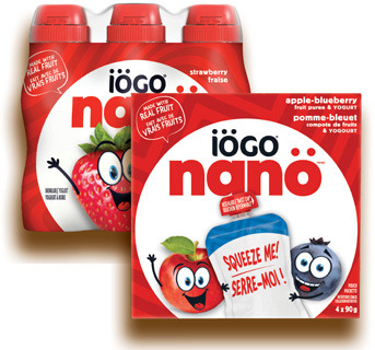 YOGOURT IÖGO NANO | IÖGO NANO YOGURT OR DRINKABLE YOGURT