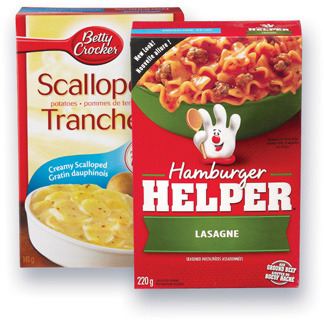 HAMBURGER HELPER BETTY CROCKER | BETTY CROCKER HAMBURGER HELPER, POTATOES