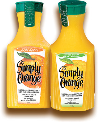JUS RÉFRIGÉRÉ SIMPLY | SIMPLY REFRIGERATED JUICE