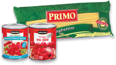 PÂTES ALIMENTAIRES PRIMO | PRIMO PASTA OR SELECTION TOMATOES