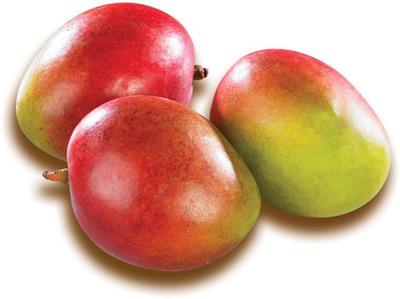 GROSSES MANGUES ROUGES | LARGE RED MANGOES