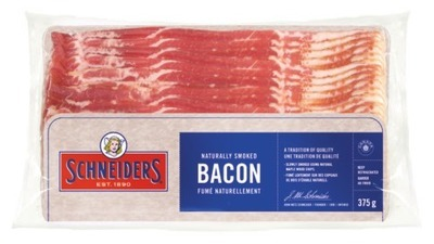 Schneiders Bacon or Maple Leaf Bacon
