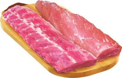Fresh Pork Tenderloin or Back Ribs Value Pack