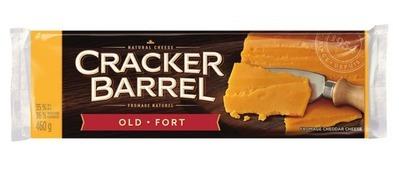 CRACKER BARREL CHEESE BARS 400 - 460 g or SHREDDED CHEESE 300 - 320 g
