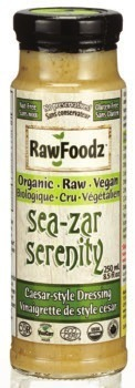Raw Foodz Organic Dressings 250 ml, Organic Dips 282 ml
