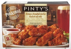 Pinty's Wings or Breaded Chicken