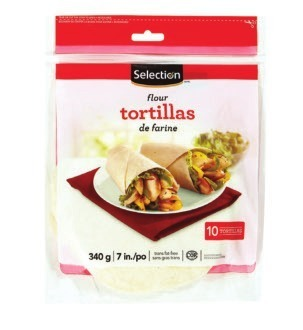 "SELECTION 7"" TORTILLAS"
