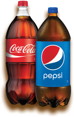 PEPSI, PEPSI DIÈTE, 7‑UP, 7‑UP DIÈTE, COKE, COKE DIÈTE, SPRITE, CANADA DRY | SOFT DRINK